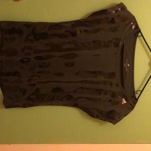 NWOT Adidas Athletic Cap Sleeve Top